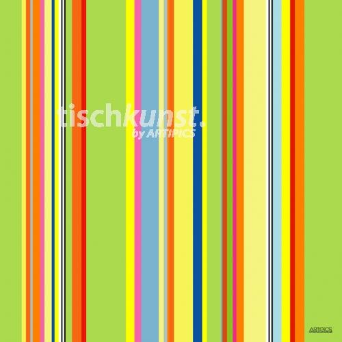 stripes hell gr n bunt artipics. Black Bedroom Furniture Sets. Home Design Ideas